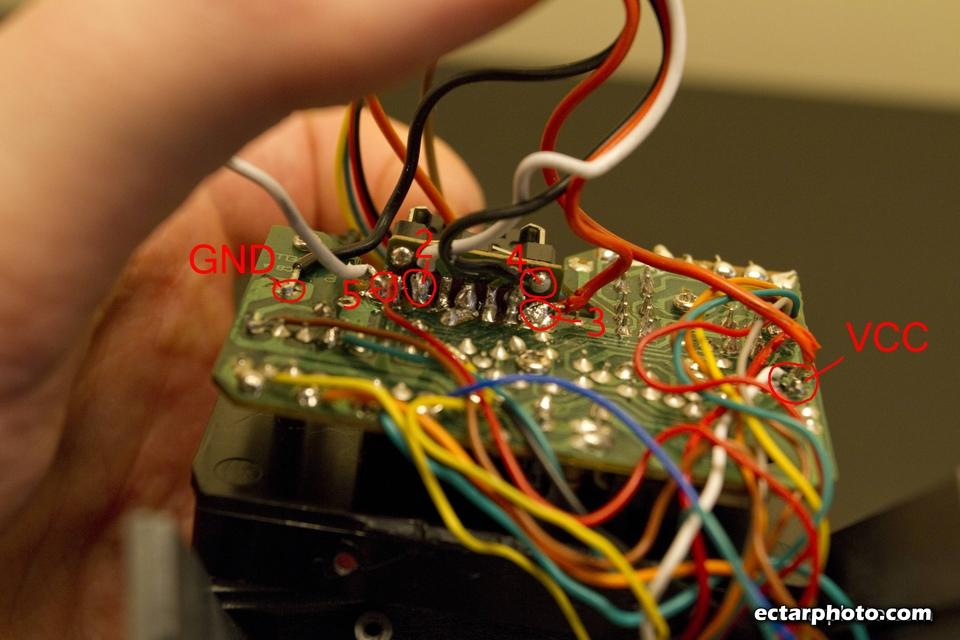 Bluetooth controlled Bescor MP-101 Pan tilt head modification