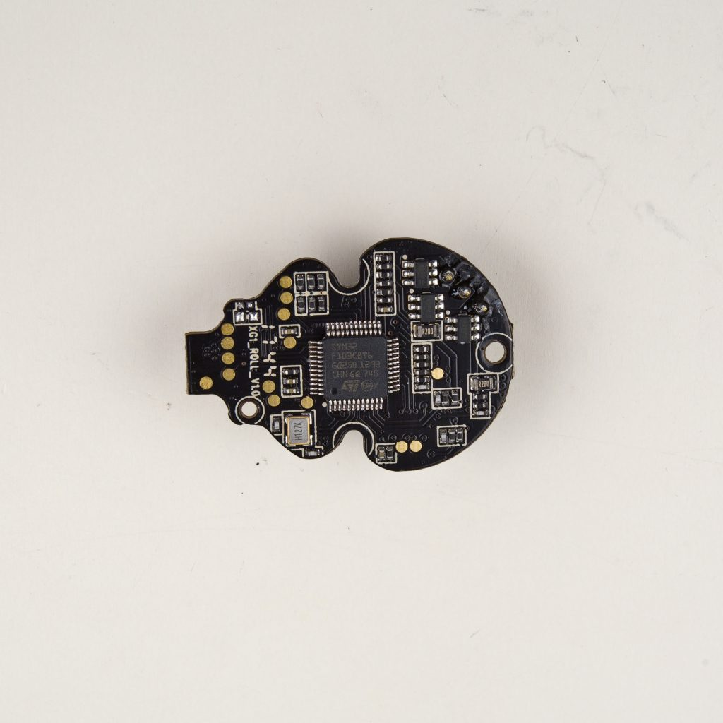 Roll Motor Controlled board top side