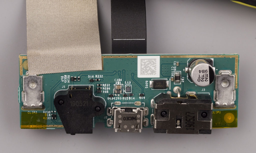 Amazon Echo Show 5, Interface board