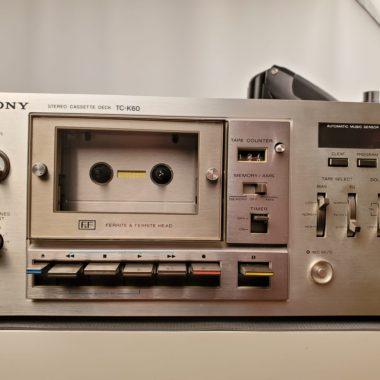 Sony TC-k60 Front Panel